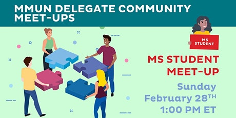 MMUN Delegate Community Meet-up (Middle School Students) tickets