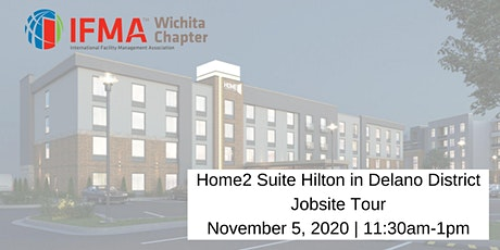 IFMA Wichita November 2020 Home2 Suites Hilton Wichita Downtown Delano Tour tickets