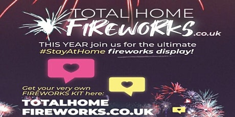 The great BIG home Fireworks Display tickets