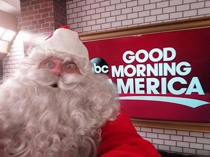SANTA SING ALONG Interactive Virtual Holiday  Comedy Show image
