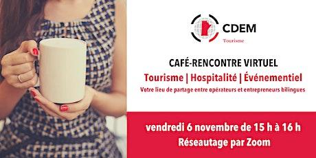 Café-rencontre du CDEM Tourisme billets