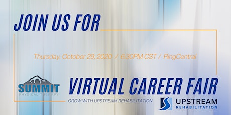Summit Physical Therapy Virtual PT Night tickets