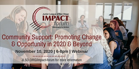 Community Support: Promoting Change and Opportunity in 2020 & Beyond tickets