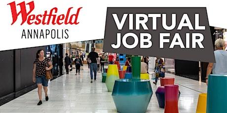 Westfield Annapolis Jobs: Register today: bit.ly/WestfieldAnnapolisJobFair tickets