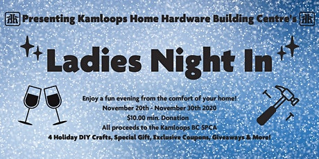 Kamloops Home Hardware Ladies' Night tickets
