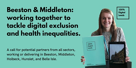 Beeston & Middleton: working together to tackle digital exclusion locally. tickets