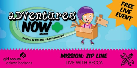 Adventures Now: Mission Zip Line tickets