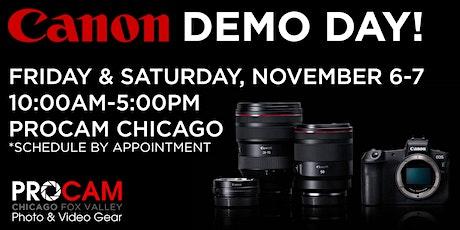 Canon Demo Day - Chicago tickets