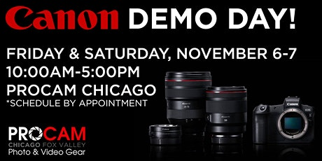 Canon Demo Day - Chicago Day 2 tickets