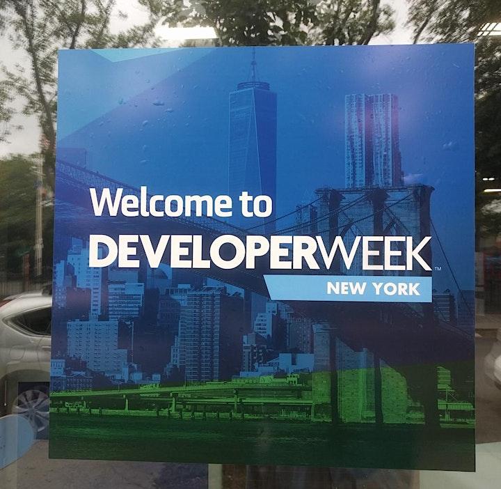 DeveloperWeek New York 2020 image
