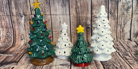 Ceramic Christmas Tree  Painting at Axe and Arrow Brewing tickets