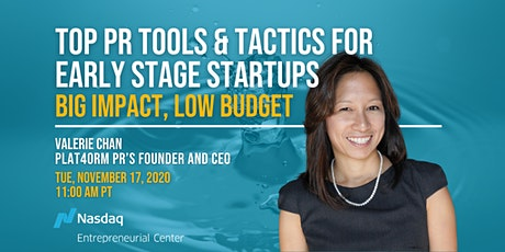 Top PR Tools & Tactics for Early Stage Startups: BIG Impact, Low Budget