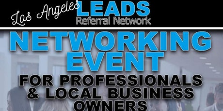 Los Angeles Virtual SPEED Networking - LEADS Referral Network tickets