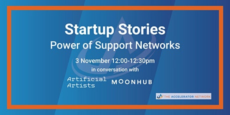 Startup Stories: Power of Support Networks- The Accelerator Network, Plexal tickets