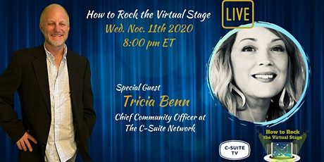 How To Rock The Virtual Stage Show Live  with Tricia Benn tickets