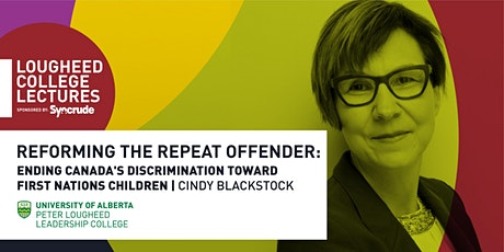 Lougheed College Lectures sponsored by Syncrude hosts Cindy Blackstock tickets