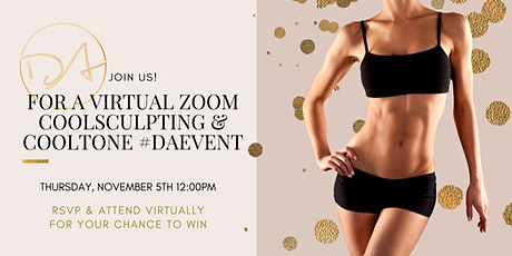 CoolSculpting® & CoolTone™ Virtual Event tickets