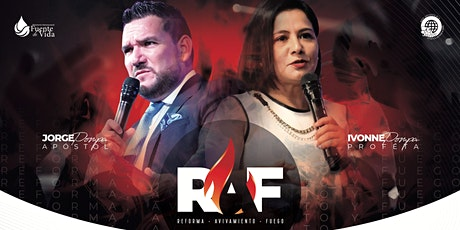RAF (Reforma - Avivameinto - Fuego) boletos