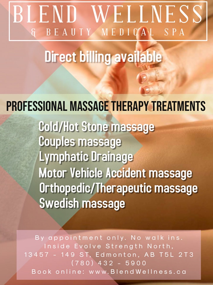 Registered massage therapy sale! image