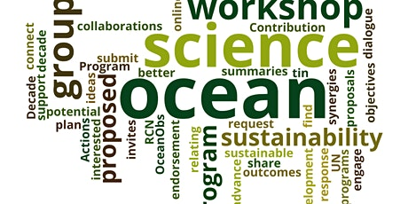 Ocean Obs Research Coordination Network:  Ocean Decade Actions Network tickets