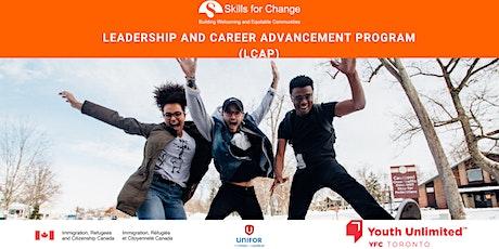 Info Session: Leadership & Career Advancement Program (LCAP) tickets