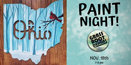 Ohio Winter Cardinal | Paint Night! tickets