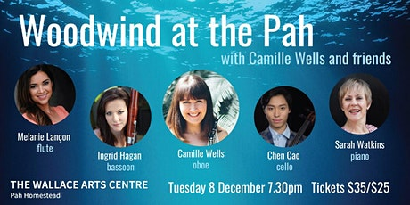 Woodwind at the Pah, with Camille Wells and friends tickets