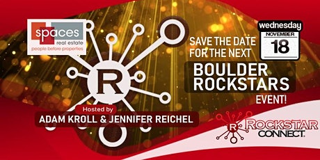 Free Boulder Rockstars Connect Networking Event (November, CO) tickets