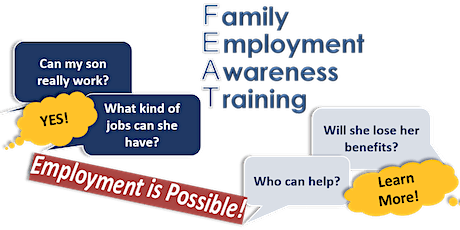 Postponed to February -  Family Employment Awareness Training Virtual tickets