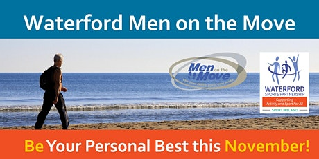 Waterford Men on the Move – Be Your Personal Best this November tickets