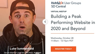 Building a Peak Performing Website in 2020 and Beyond tickets