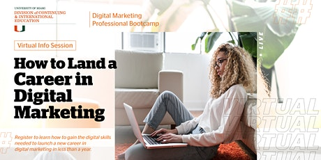 Digital Marketing Virtual Info Session tickets