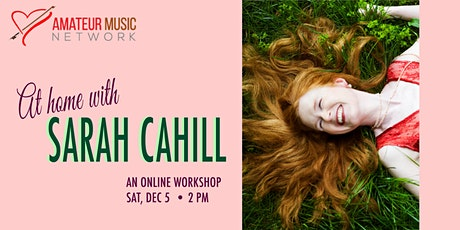 At Home with Sarah Cahill tickets