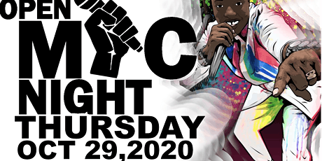 OPEN MIC NIGHT OCT 29,2020 tickets