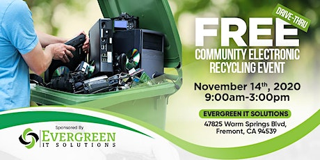 FREE Electronic Recycling Event - DRIVE THRU tickets