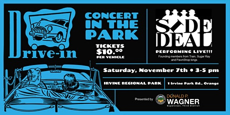 Supervisor Wagner Drive-In Concert: SIDE DEAL tickets