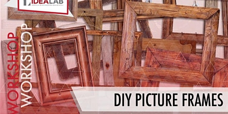 DIY Picture Frames tickets