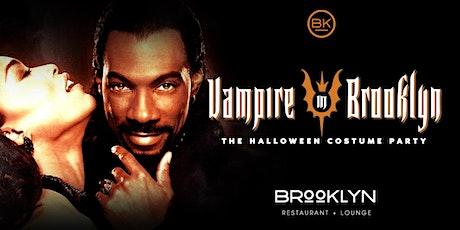 Vampire in BROOKLYN { Halloween costume party ] tickets