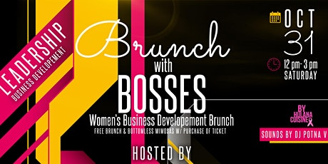 Brunch with Bosses tickets