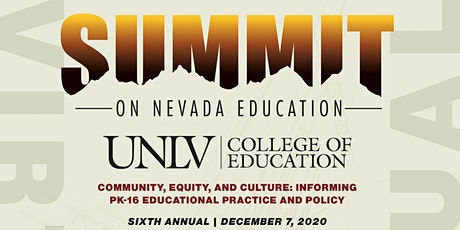 Sixth Annual Virtual Summit on Nevada Education tickets
