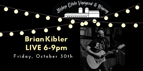 Brian Kibler Live at Bishop Estate Vineyard and Winery tickets