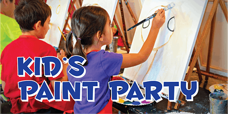 Kids Paint Party tickets