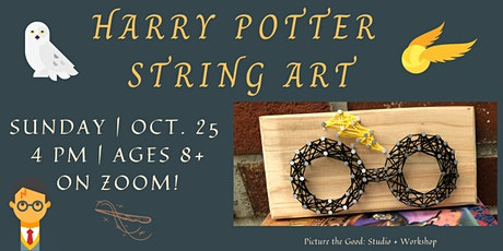 A Cookie + A Craft: Harry Potter String Art tickets