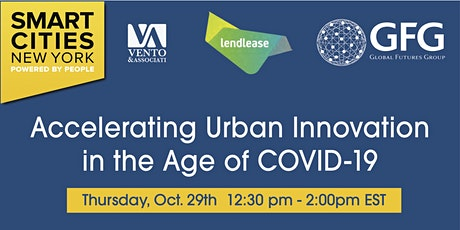 Accelerating Urban Innovation in the Age of Covid tickets