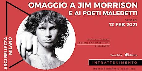 Jim Morrison e i Poeti Maledetti biglietti