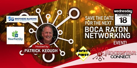 Free Boca Raton Rockstar Connect Networking Event (November, Florida) tickets