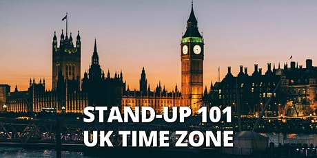 STEP BY STEP TO STAND UP COMEDY 101 |ONLINE | WKS 2-6| BST tickets