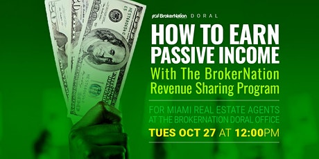 How To Earn Passive Income With The BrokerNation Revenue Sharing Program tickets