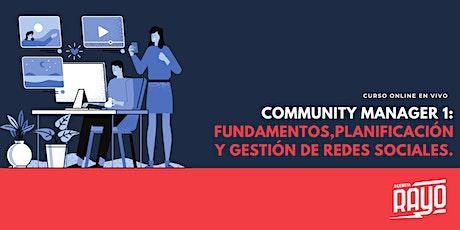 COMMUNITY MANAGER 1: Fundamentos, planificación y gestión de Redes sociales entradas