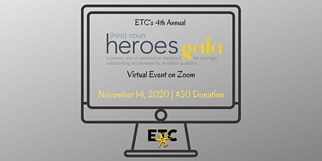 ETC's 4th Annual Heroes Gala tickets